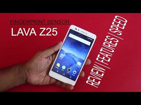 Lava Z25 Fingerprint Sensor Review | Speed | Features | Accuracy explained