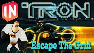 Disney Infinity Toy Box Share Escape The Grid (Tron Week)