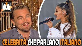 Celebrità Che Parlano Italiano