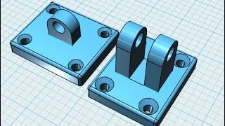 SGY 1 Bracket in 123D Design