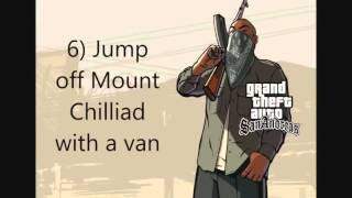 10 Things to do in GTA SA (PC)