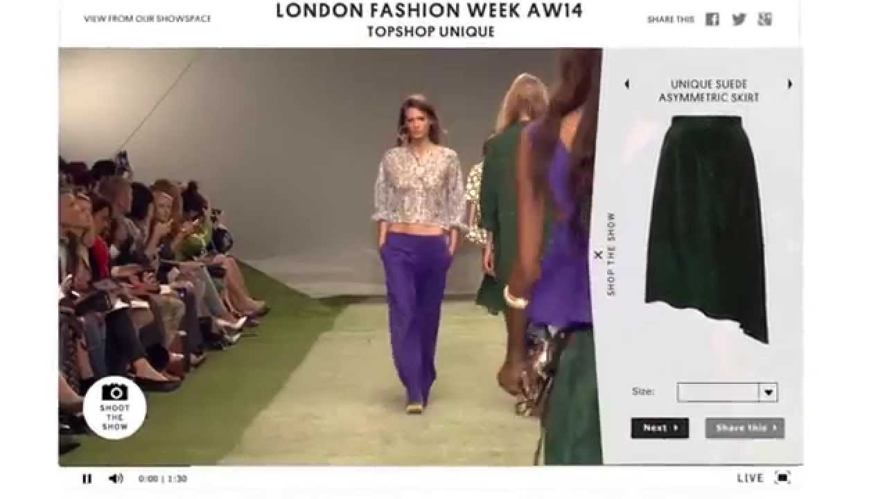35a1091a1934 Topshop Fashion Week Oculus Rift Teaser - YouTube