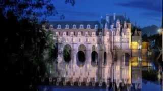 Франция.Замки долины Луары. Шенонсо. Ночная прогулка.(Замок Шенонсо - один из красивейших замков долины Луары. Архитектурно относится к стилю Ренессанса. Изящны..., 2012-12-12T08:25:16.000Z)