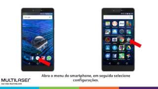 Como ativar os dados móveis no Smartphone Multilaser MS70