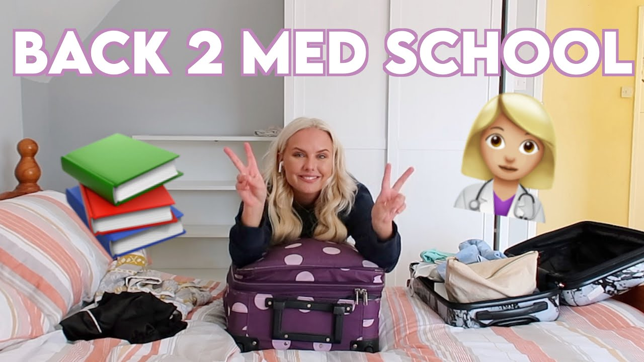 Download PACK WITH ME FOR MEDICAL SCHOOL (4th year medical student uk)   University move in vlog