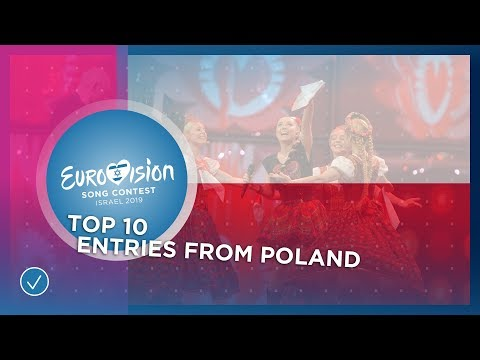 TOP 10: Entries from Poland - Eurovision Song Contest