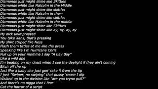 XXXTentacion (Feat. Ski Mask The Slump God) - What in XXXTarnation (Official Screen Lyrics)