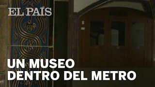 Un pequeño museo dentro del METRO de PACÍFICO