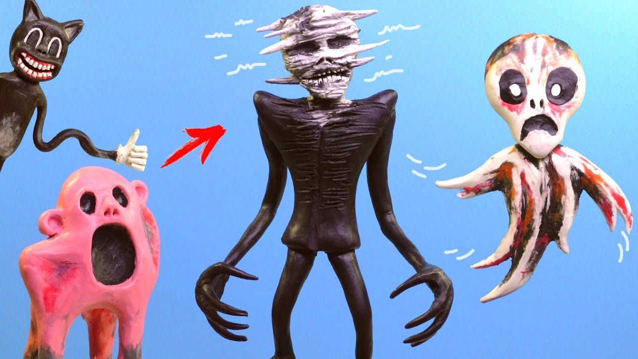 КАРАКУЛИГОЛОВЫЙ - Scribble Head, Инопланетный призрак | Лепим Творения Тревора Хендерсона