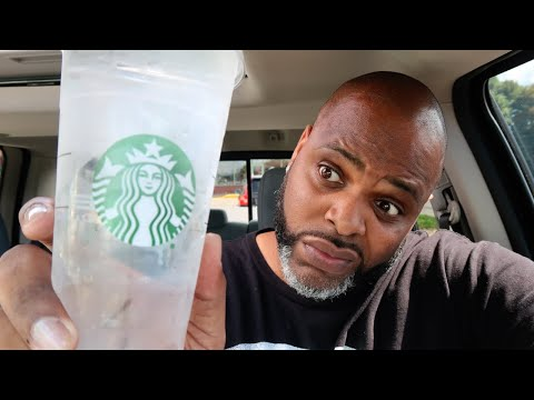 Why I always drink Starbucks Water - THIRST TRAP