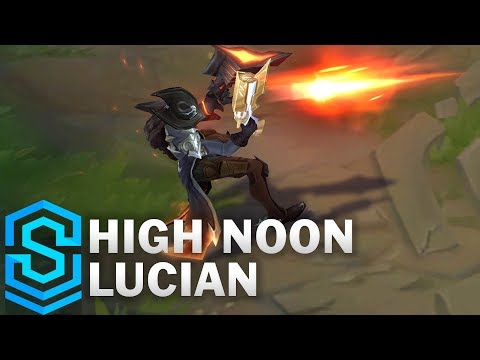 High Noon Lucian Skin Spotlight - League of Legends
