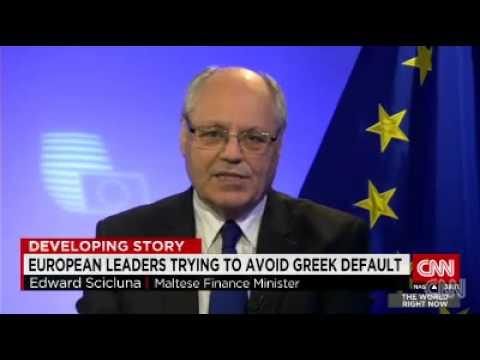 Finance Minsiter Edward Scicluna on CNN