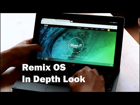 Remix OS In Depth Look: Complete Feature Walkthrough