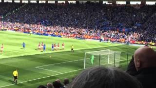 Leicester city vs West Ham Leonardo Ulloa penalty