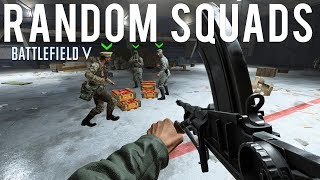 Random Squads in Battlefield Firestorm