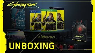 Cyberpunk 2077 — Official Game Unboxing Video