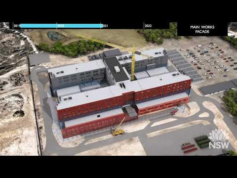 New Maitland Hospital Construction Animation - YouTube