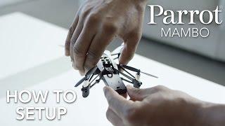 Parrot Minidrones - MAMBO - Tutorial #1: Setup