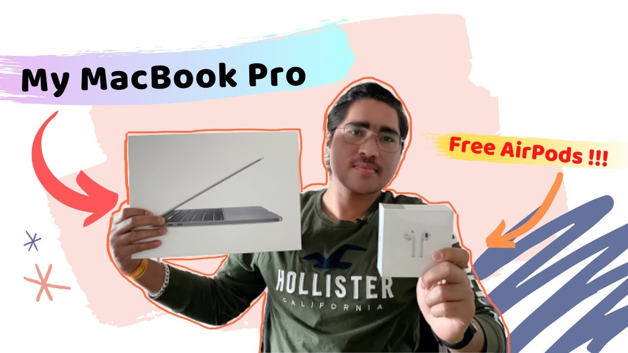 Unboxing Apple's New MacBook Pro 13 inch 2020   My First ...