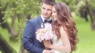 Красивый летний свадебный клип. Свадьба в Москве на природе