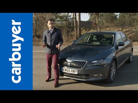 Skoda Superb hatchback review – Carbuyer