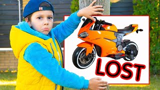 Artem and Lost Sportbike | Search for a toy vehicle on Power Wheels