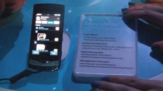 Samsung Wave Bada TouchWiz 3.0 hands-on