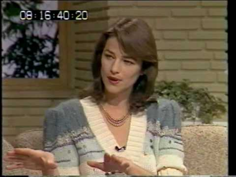 Charlotte Rampling on TV-am, 1983 - Part 1