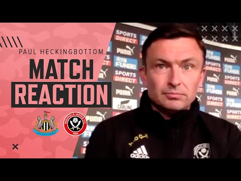 Paul Heckingbottom   Newcastle 1-0 Sheffield United   Post Match Reaction
