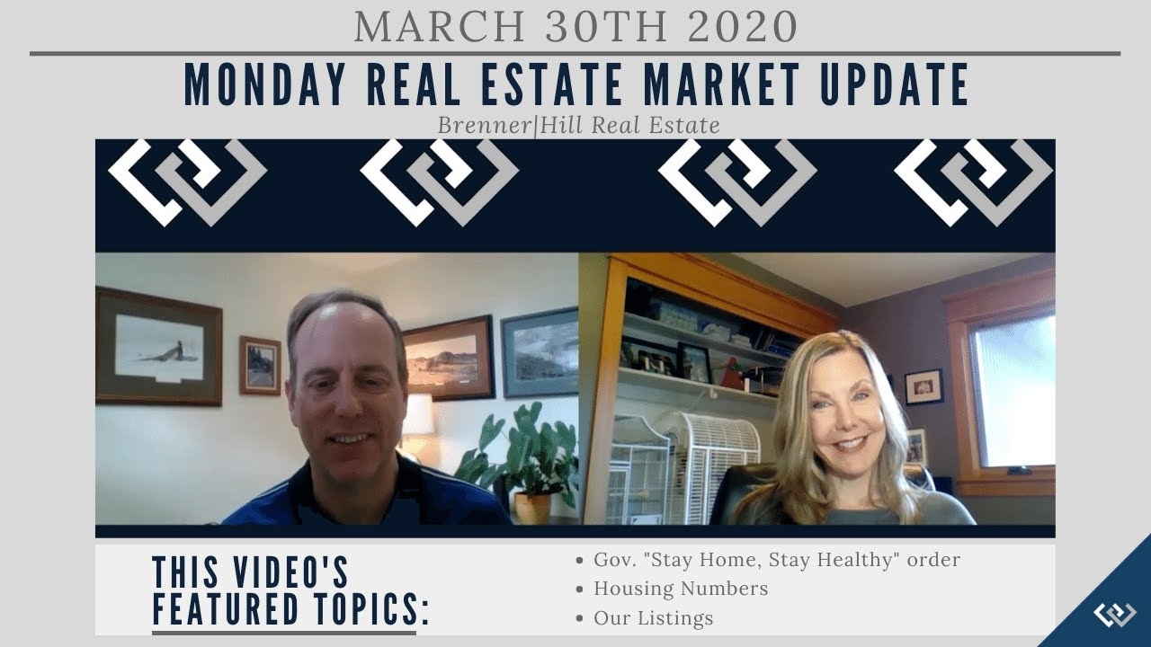 Monday NW Seattle Real Estate Market Update 3.30.20
