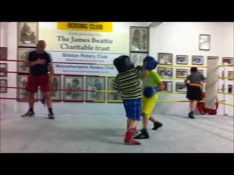 8 Year Old Mini Pacquiao UK