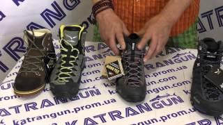 видео Купить зимние ботинки мужские Salomon для туризма и активного отдыха