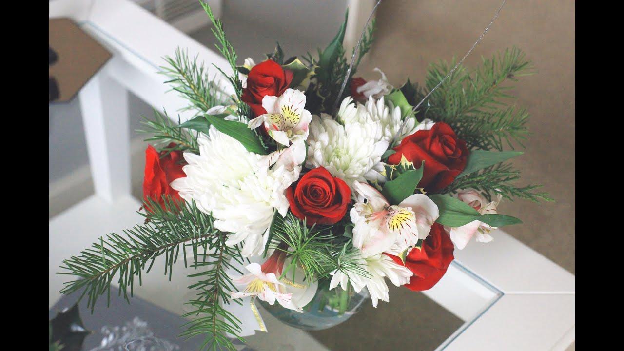 DIY How To Make a Flower ArrangementBouquet Centerpiece
