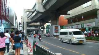 Exploring the Streets of Bangkok, Thailand [Rama 1 Road] กรุงเทพมหานคร