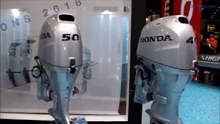 Nouveaux moteurs Honda au Salon Nautic de Paris