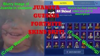 Juanita Tries To Guess Fortnite Skins!?! Juanita Attempts Fortnite.... (Funny Juanita Skit)