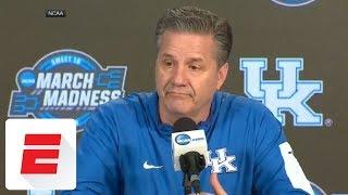 Kentucky coach John Calipari to his team: