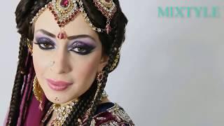 Сказочная невеста из Индии ❤ Азиатский свадебный макияж 7⃣
