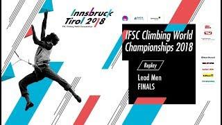 IFSC Climbing World Championships - Innsbruck 2018 - Lead - Finals - Men