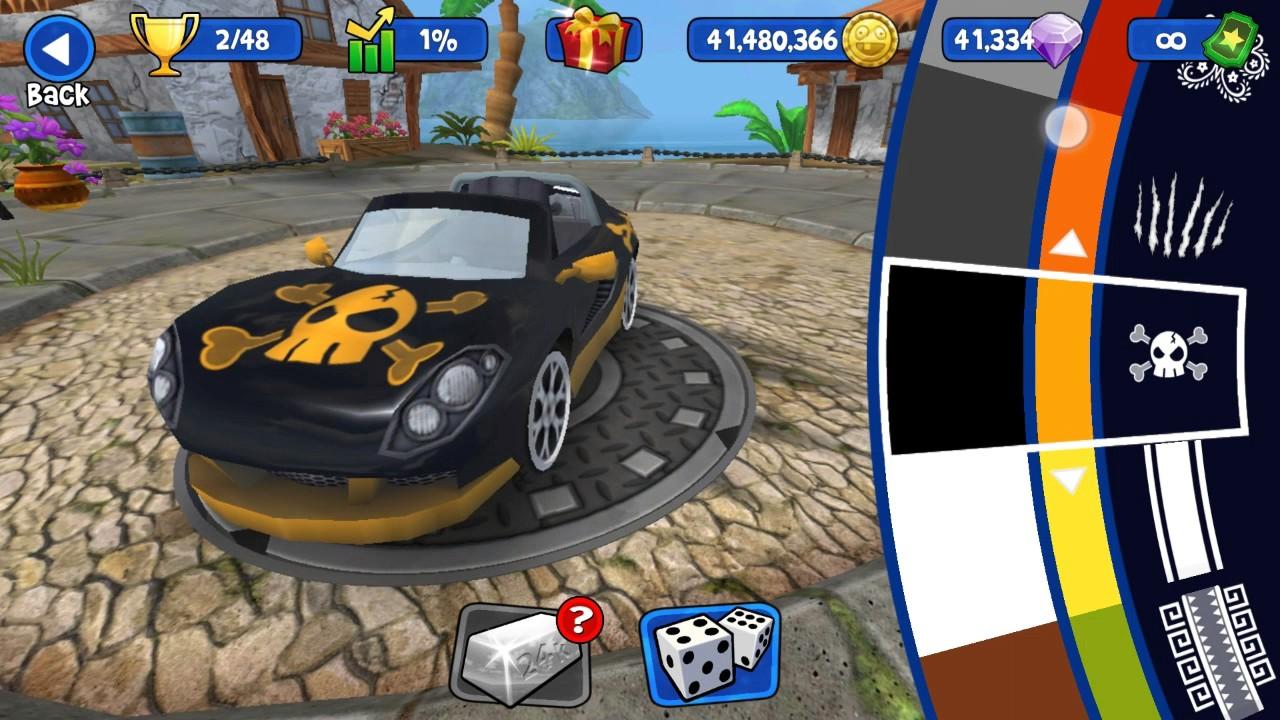 download beach buggy racing mod apk