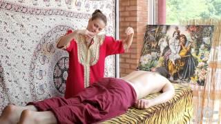 Массаж Спины. Йога в Кишиневе.(Массаж спины от Нагины. Йоговский массаж спины для всех., 2012-08-17T14:59:57.000Z)