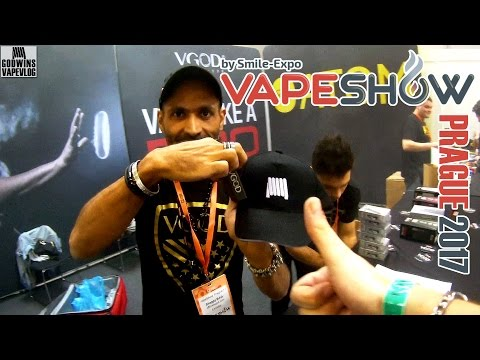 Vape Show Prague 2017 - video z obou dní od Godwina