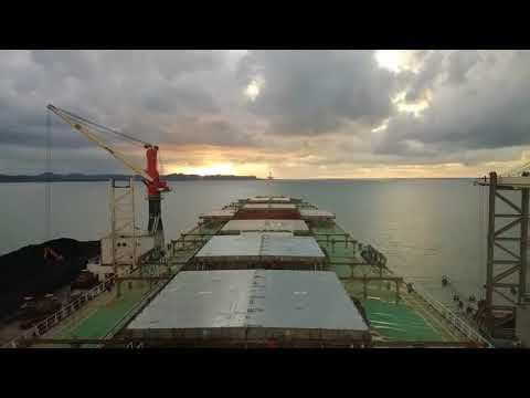Time Lapse Bulk Carrier