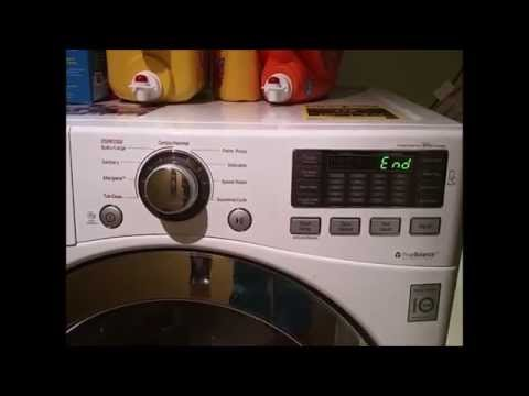 LG Washer end melody