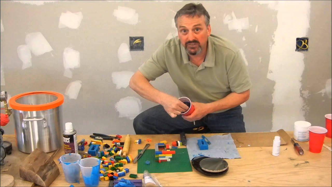 Silicon Mold Making for casting Alumilite pen blanks