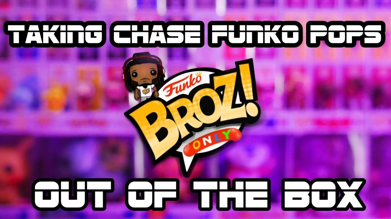 TAKING LIMITED &  CHASE FUNKO POPS OUT OF THE BOX