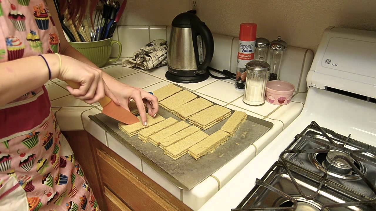 Homemade Nutty Bars - YouTube