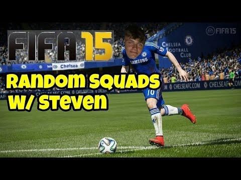 Fifa 15- Random Squads #1 w/Steven (Funny)