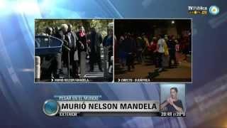 Visión 7: Sudáfrica despide a Nelson Mandela