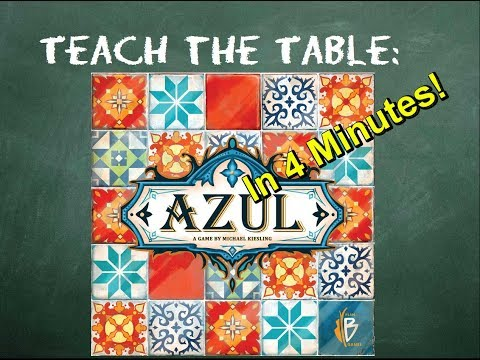 How to play Azul in 4 Minutes